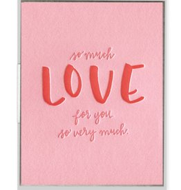 So Much Love For You Card