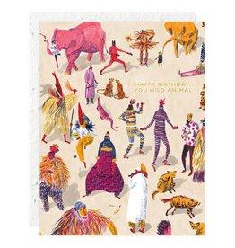 Wild Animal Birthday Card