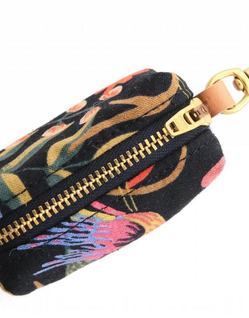 Boho Birds Midnight Waste Bag Holder