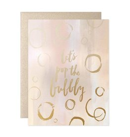 Let's Pop The Bubbly Card