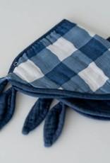 Cotton Muslin Bandana Bib 2 pack - Jack Plaid Set