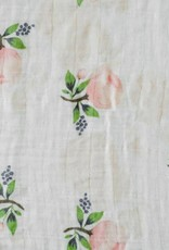 Cotton Muslin Swaddle Single - Watercolor Rose