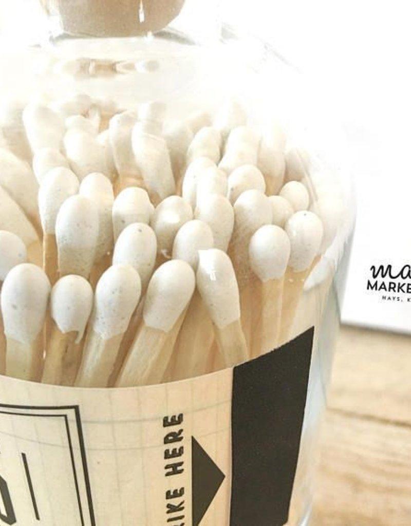 Vintage Apothecary White Matches - 80 ct.