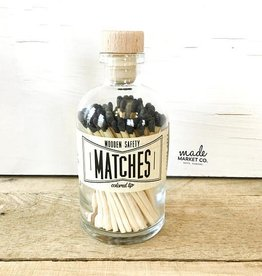 Vintage Apothecary Black Matches - 80 ct.