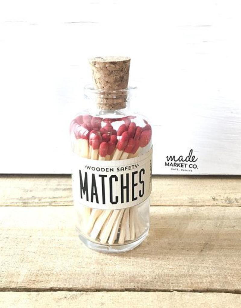 Mini Apothecary Red Matches - 45 ct.