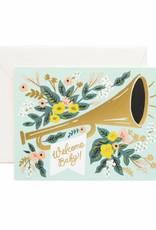 Welcome Jubilee Baby Card