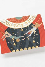 You Got This Trapeze Card