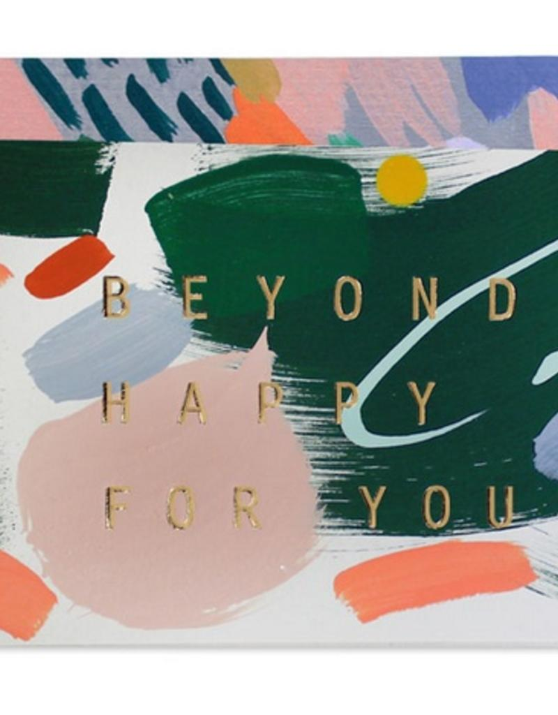 Beyond Happy For You Card