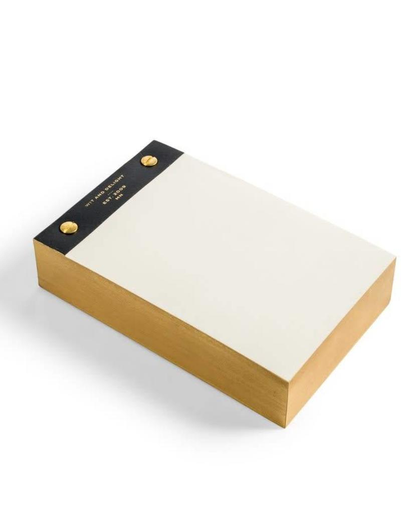 Desktop Notepad - Black
