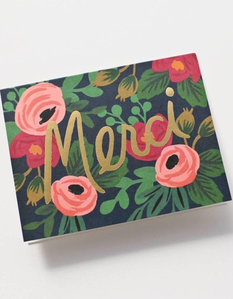 Rosa Merci Card