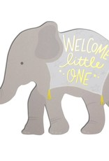 Baby Elephant Die Cut Card
