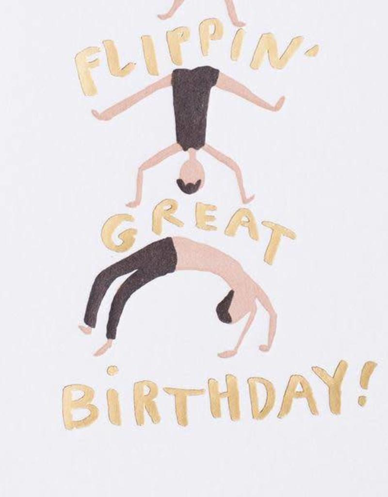 Flippin' Great Birthday Card