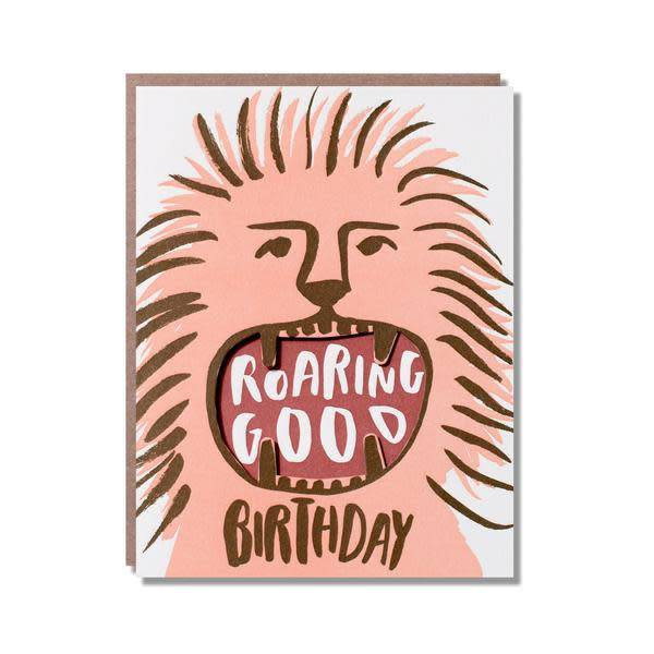 Roaring Good Birthday Card All Good Things