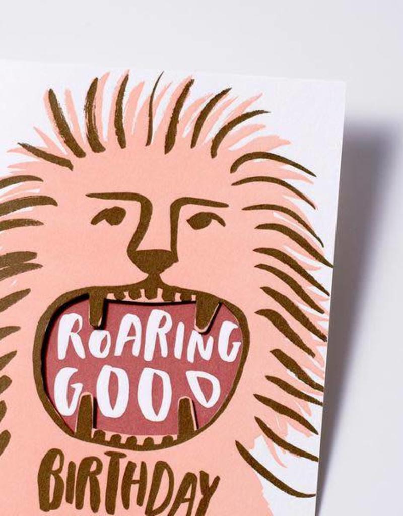 Roaring Good Birthday Card