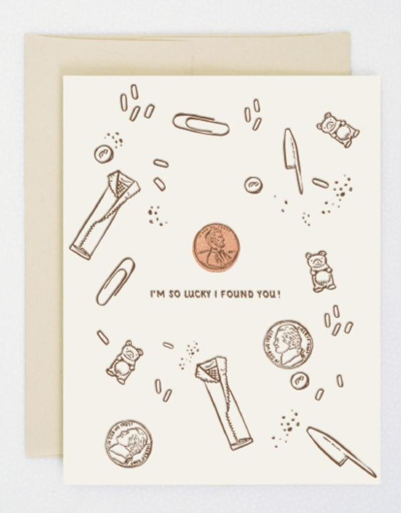 Lucky Penny Card