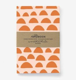 Sunrise Pattern Notebook