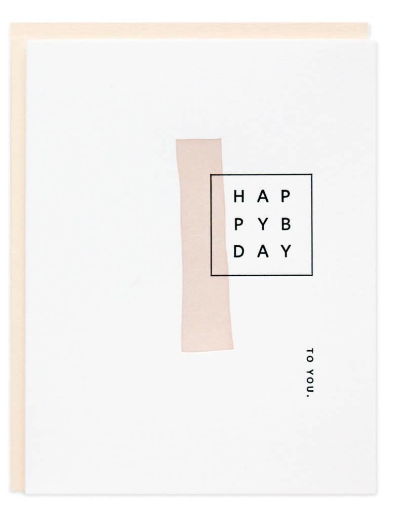 Happy Birthday Mod Card