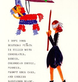 My Birthday Pinata Card