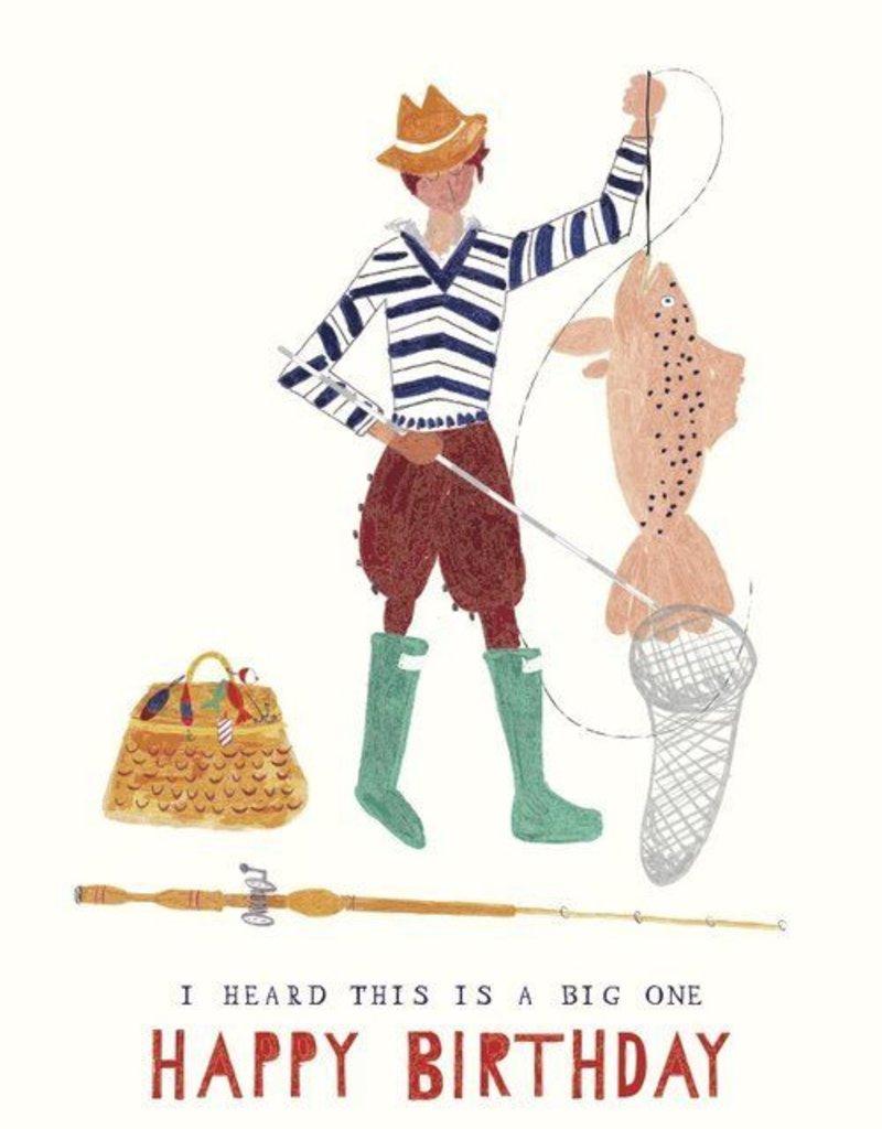 A Big Mackerel Card