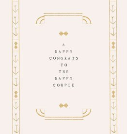 A Happy Congrats to the Happy Couple Card
