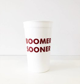 Boomer Sooner Cups - Set of 8