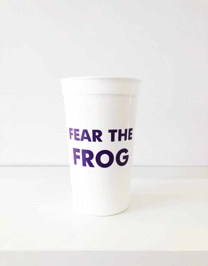 Fear the Frog Cups - Set of 8