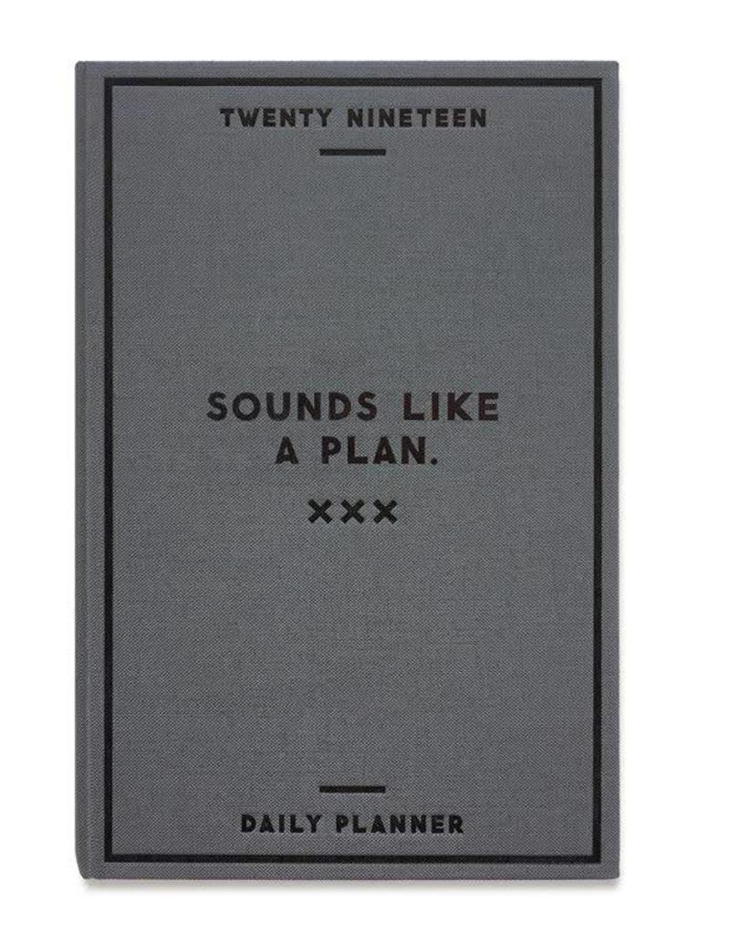 Sounds Like a Plan Day Planner 2019