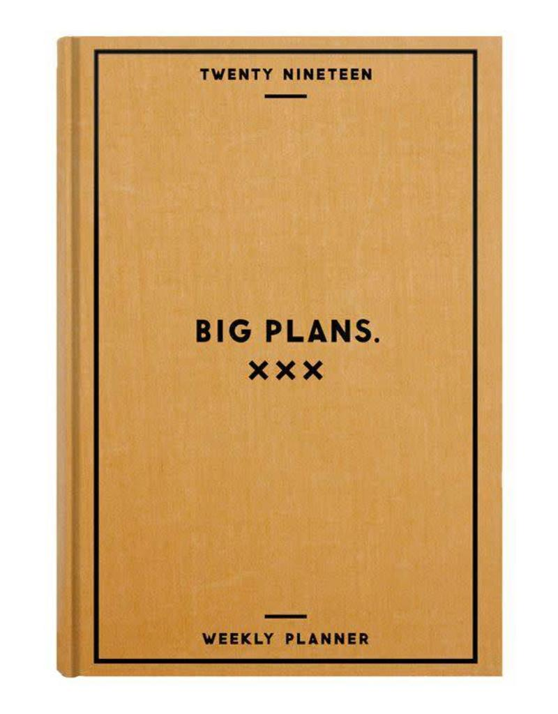 Big Plans 2019 Weekly Planner