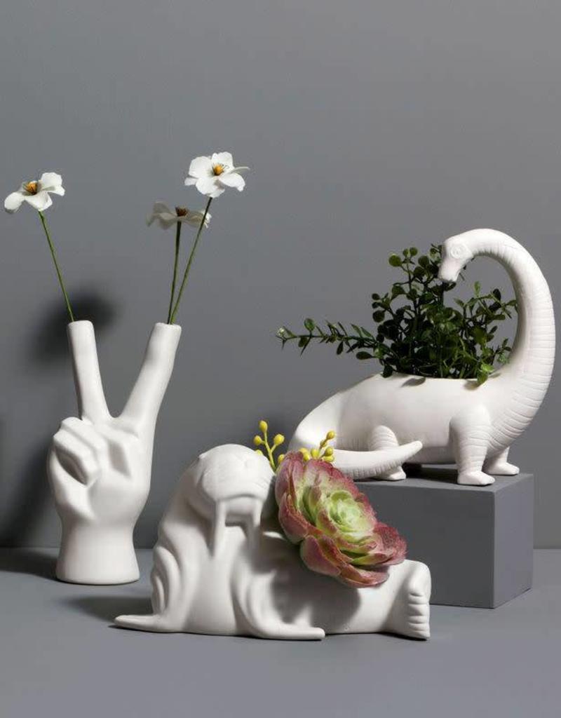 Peace Sign Mini Bud Vase