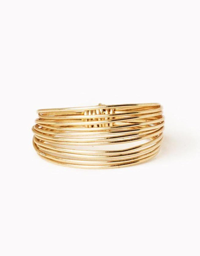 Gold Go Ring - Size 6