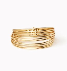 Gold Go Ring - Size 8