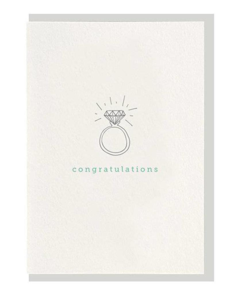 Congratulations Ring Card