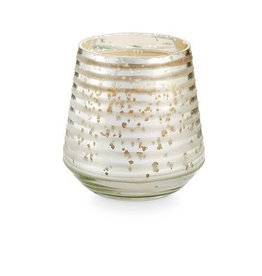 Balsam & Cedar Small Etched Mercury Glass Candle