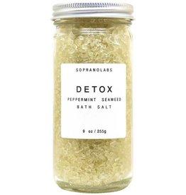 Peppermint Detox Bath Salt