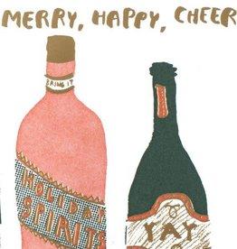 Merry, Happy, Cheer Card