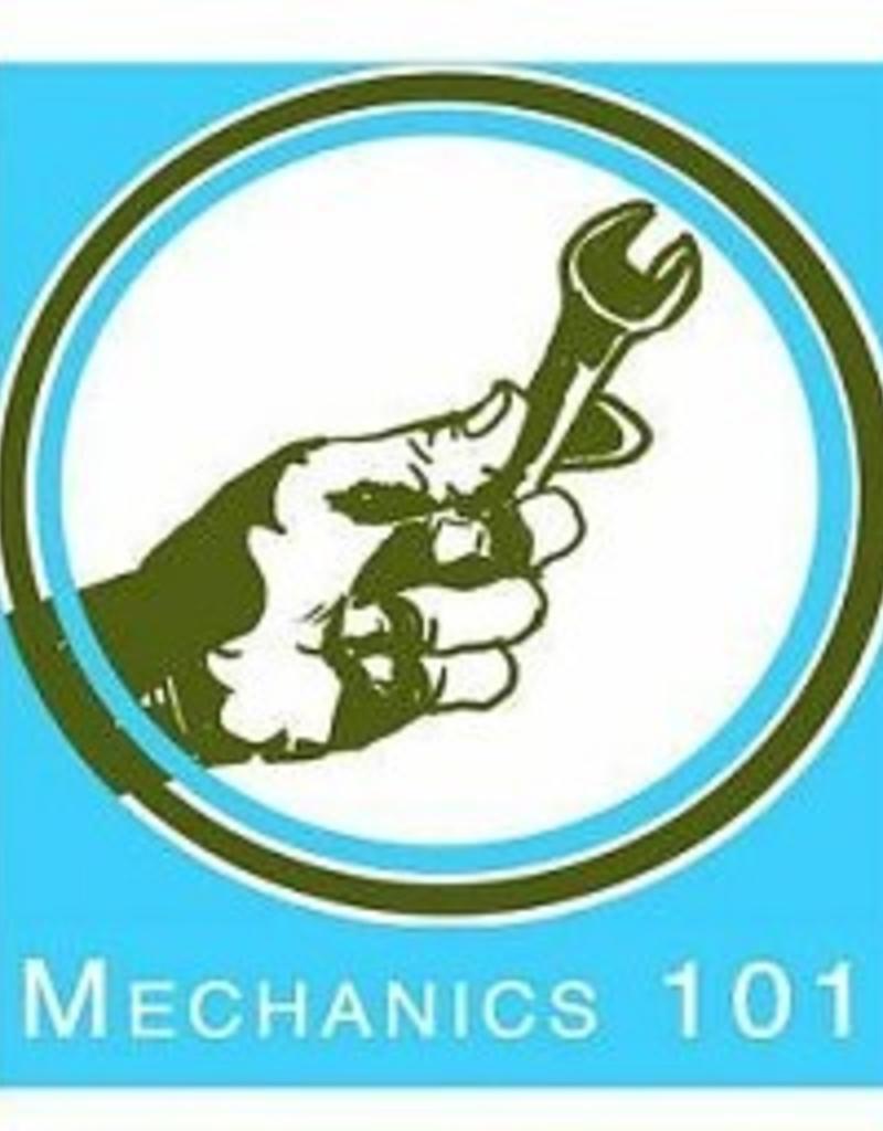 Thursday Mechanics 101, Park Hill 6 - 7pm