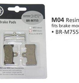 Shimano BR-M755 DISC BRAKE PADS 1PR  M04  RESIN