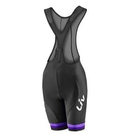 Liv Liv Race Day Bib Shorts Black/Purple Md