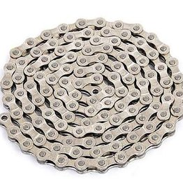 YBN Silver YBN Single Speed Chain 1/2*1/8