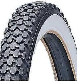 "Tyre Duro White Wall 24""*2.125 Knobby"