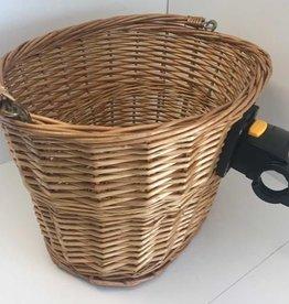Wicker QR Front Basket