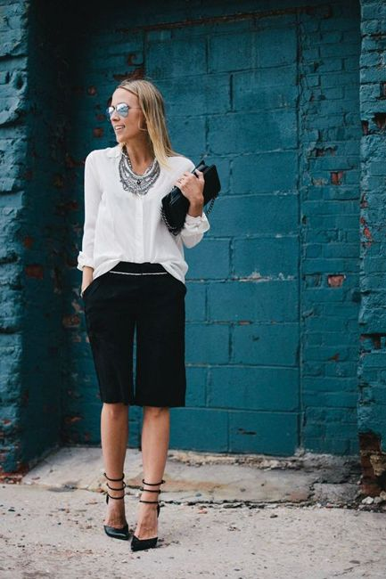 How To Style Shorts For Work