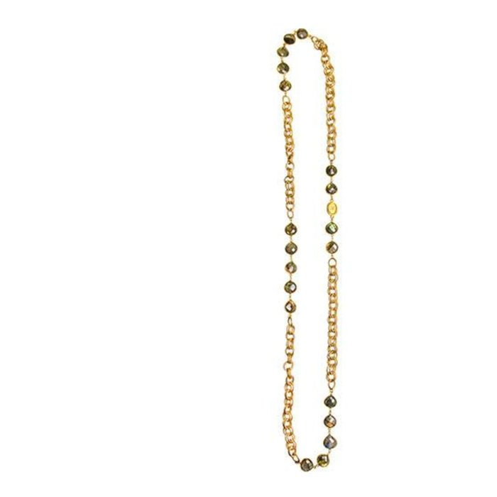 Catherine Page  Heavy Chanel Chain--