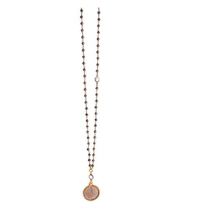 Della Coin Necklace