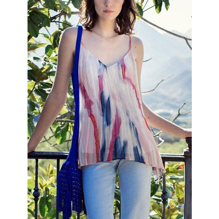 Portifino Flyaway Cami with Waterstrokes
