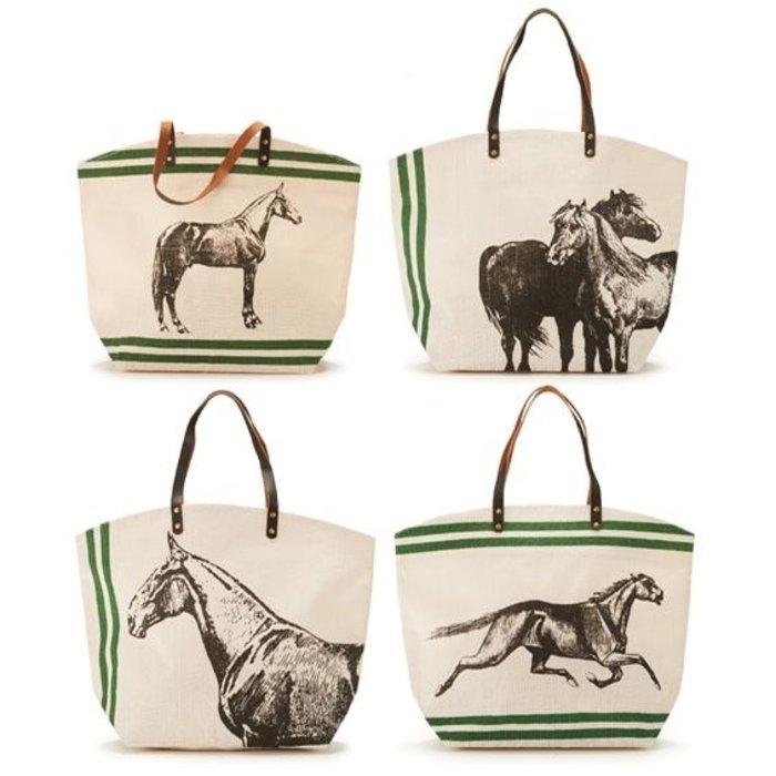 Jute Horse Bags
