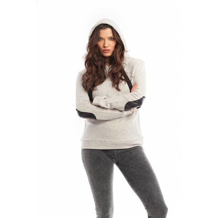 Lily Hooded Pullover Stone