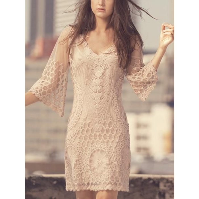 Lago Dress Nude