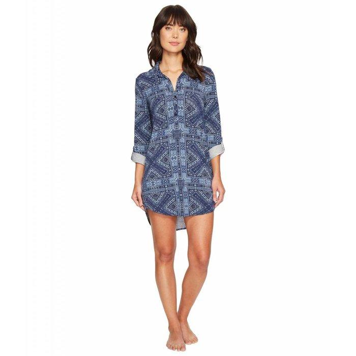 Blue Batik Nightshirt