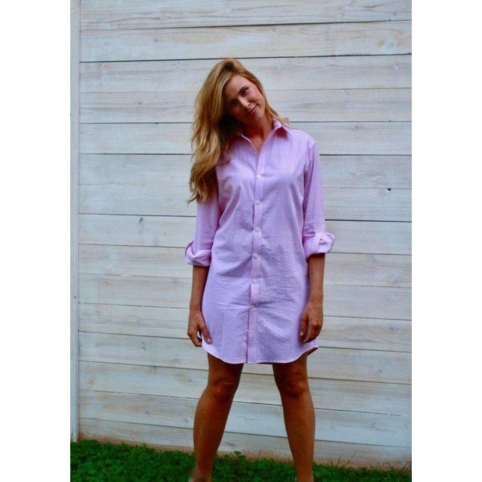 Emily Phillips Seersucker Dress